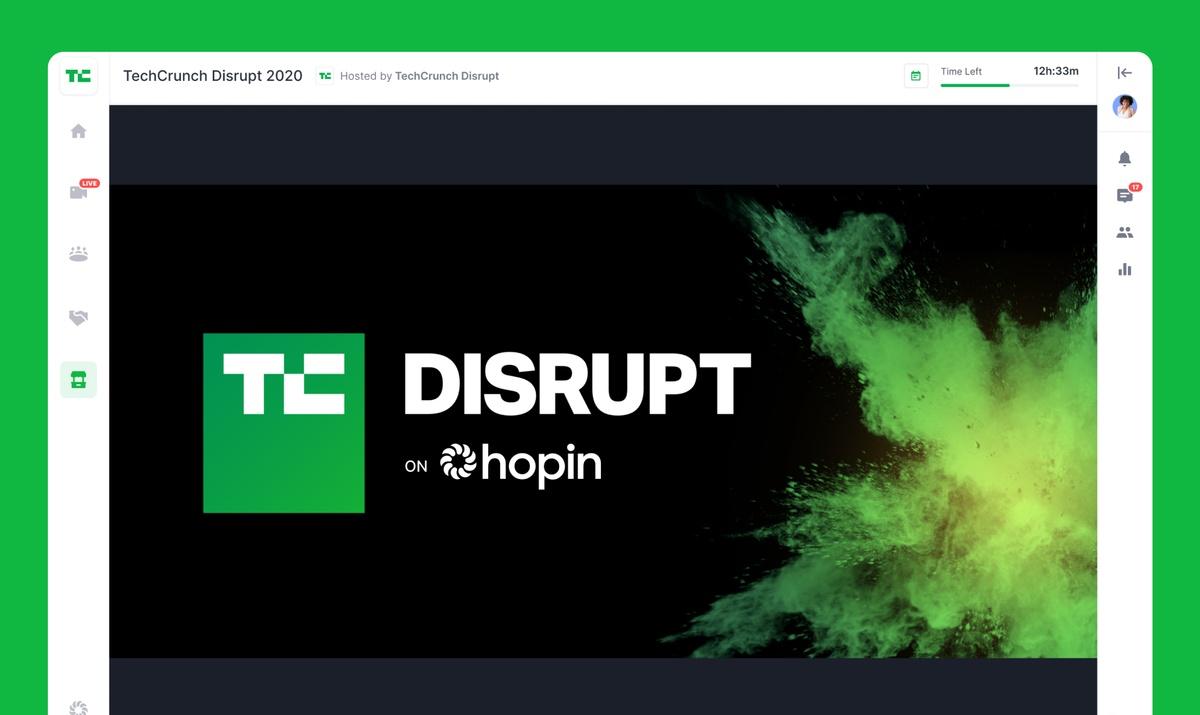 TechCrunch Disrupt 2020 Is Happening on Hopin | Hopin