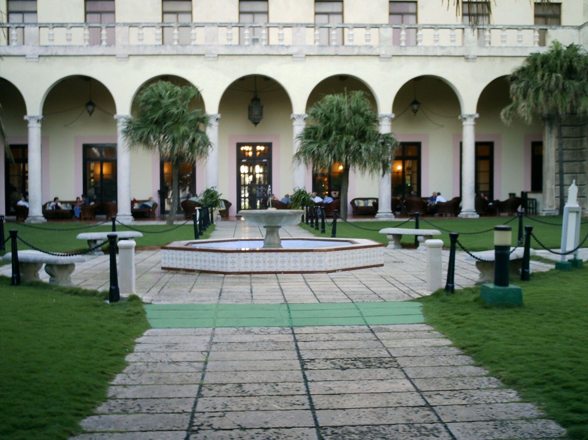National Hotel Gardens in Cuba