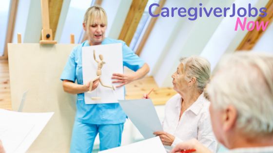 Why home care CNAs can use art to improve the lives of their clients