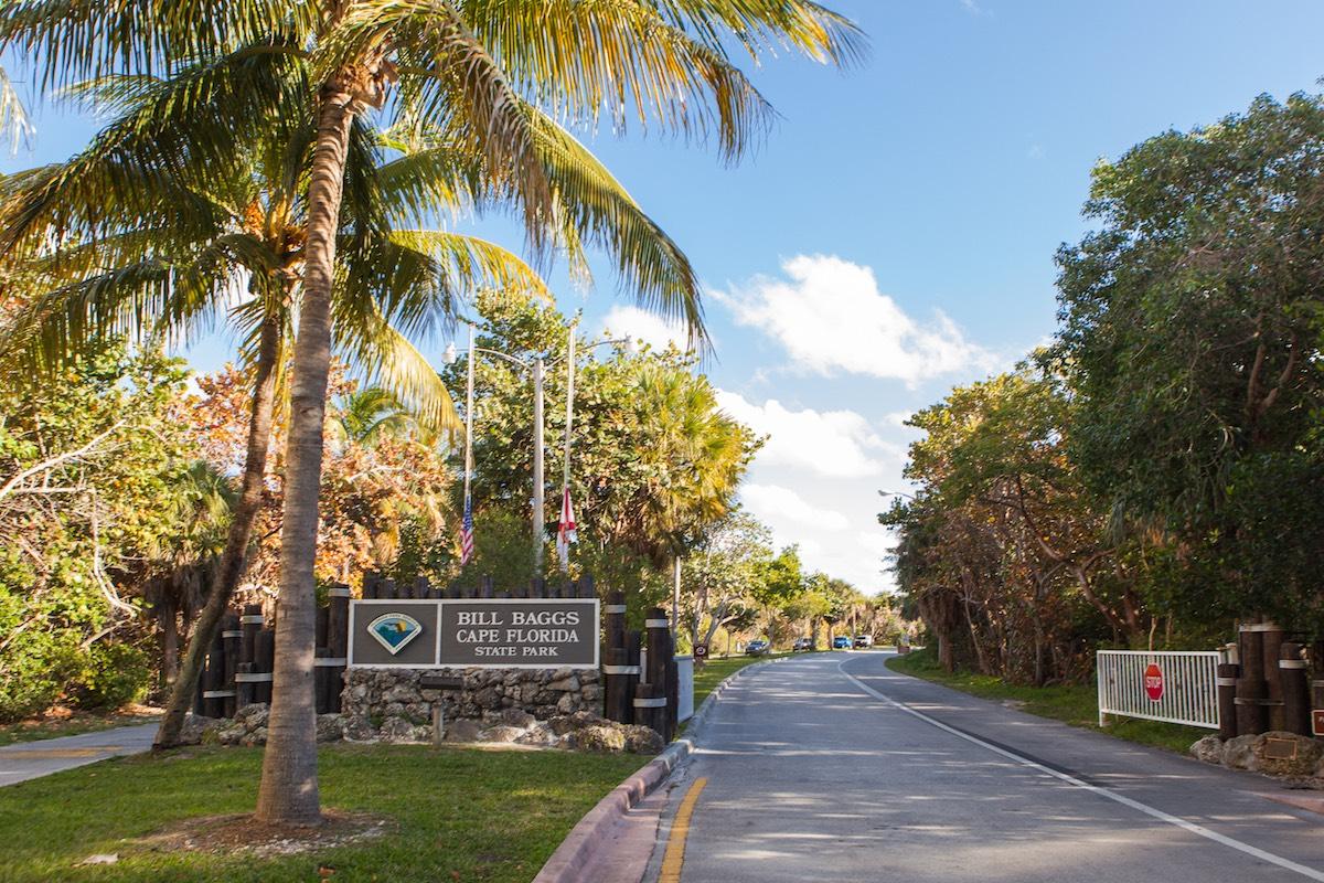 Bill Baggs Park in Miami