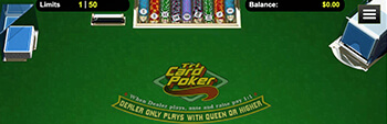 Intertops Casino Tri Card Poker