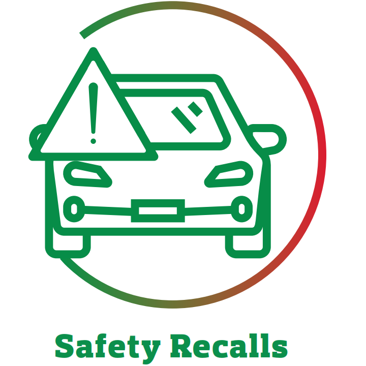 safety recalls icon