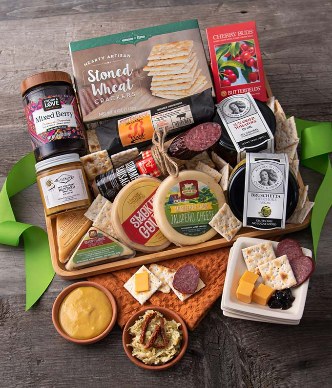 The best meat and cheese Christmas gift baskets