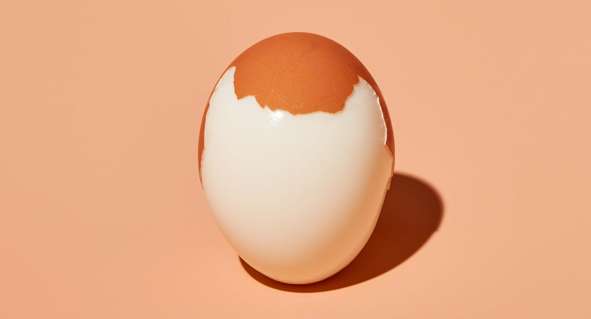 Male  Pattern Baldness Hardboiled Egg