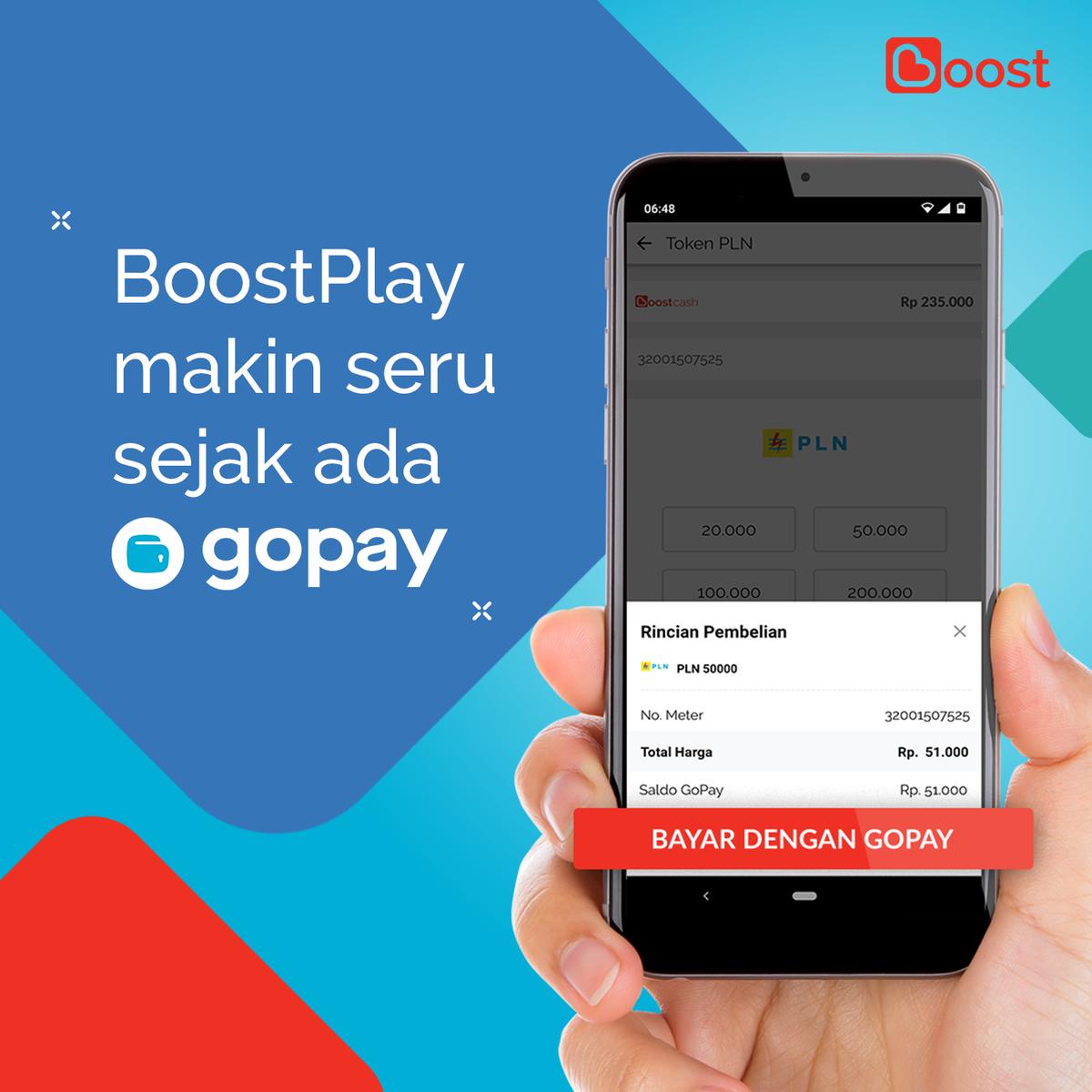 Ada GoPay di BoostPlay Transaksi Kamu Semakin Menguntungkan