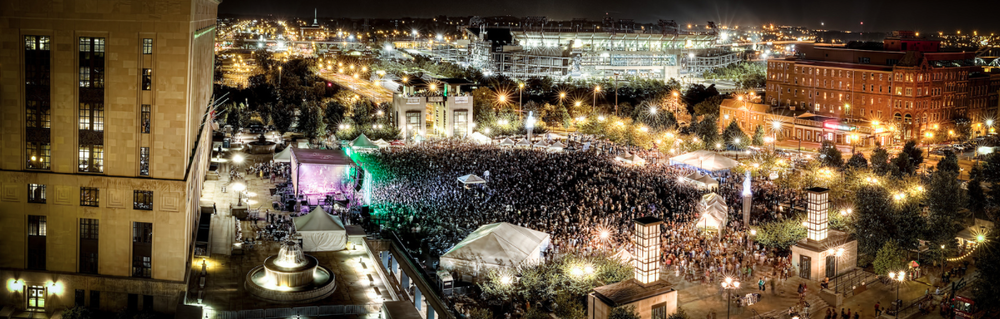 Outdoor Concerts in Nashville TN