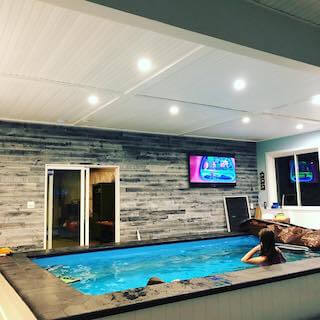 Chris' New Pool Room Reaches Completion