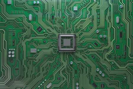 Image of a computer circuit board