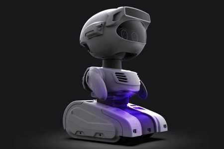 Image of the Misty II robot from Misty Robotics