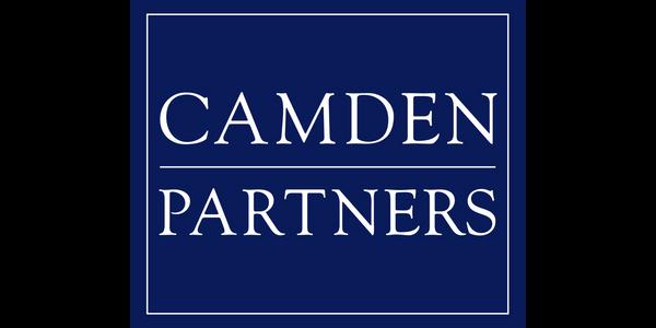 The logo for Camden Partners