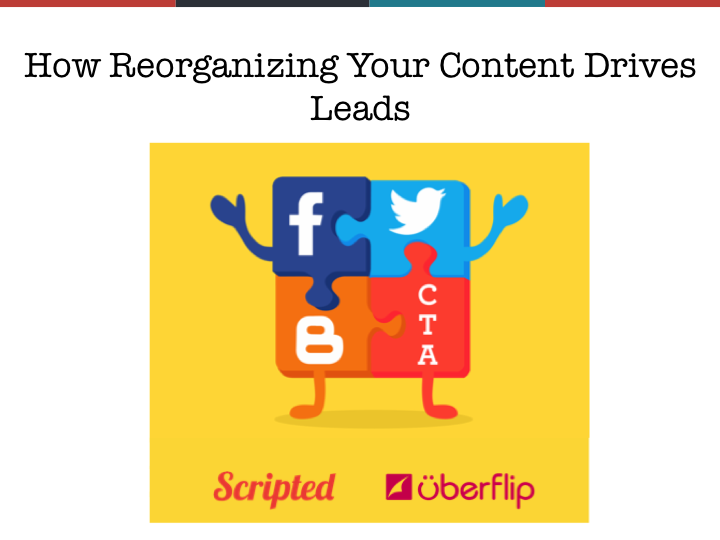 [Webinar Recap] How to Drive Leads By Reorganizing Your Content