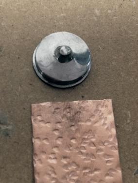 texturing hammer; pattern 6
