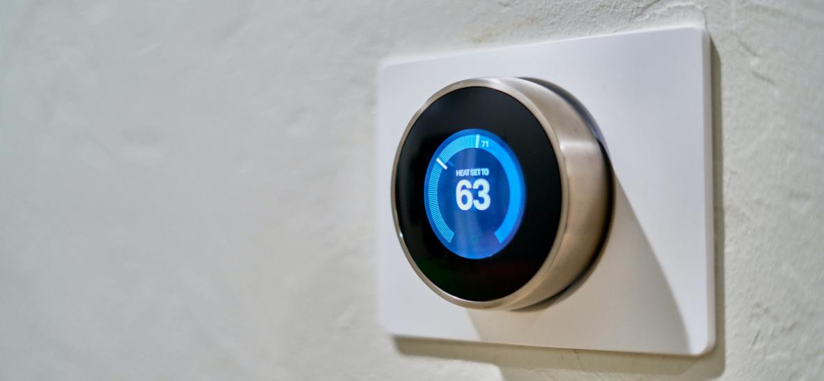 Google Nest Smart Thermostat smart home device