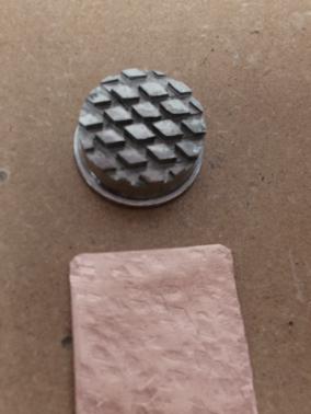 texturing hammer; pattern 5