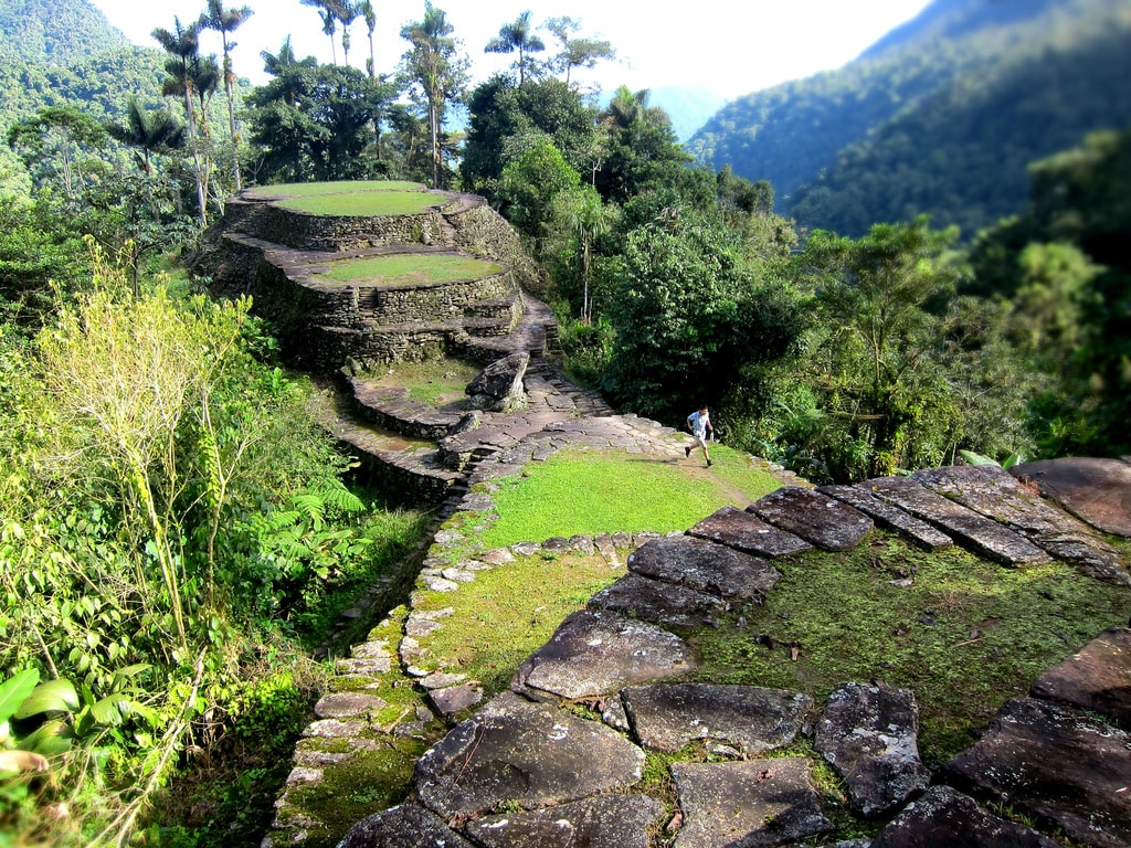 The Lost City hiking Colombia