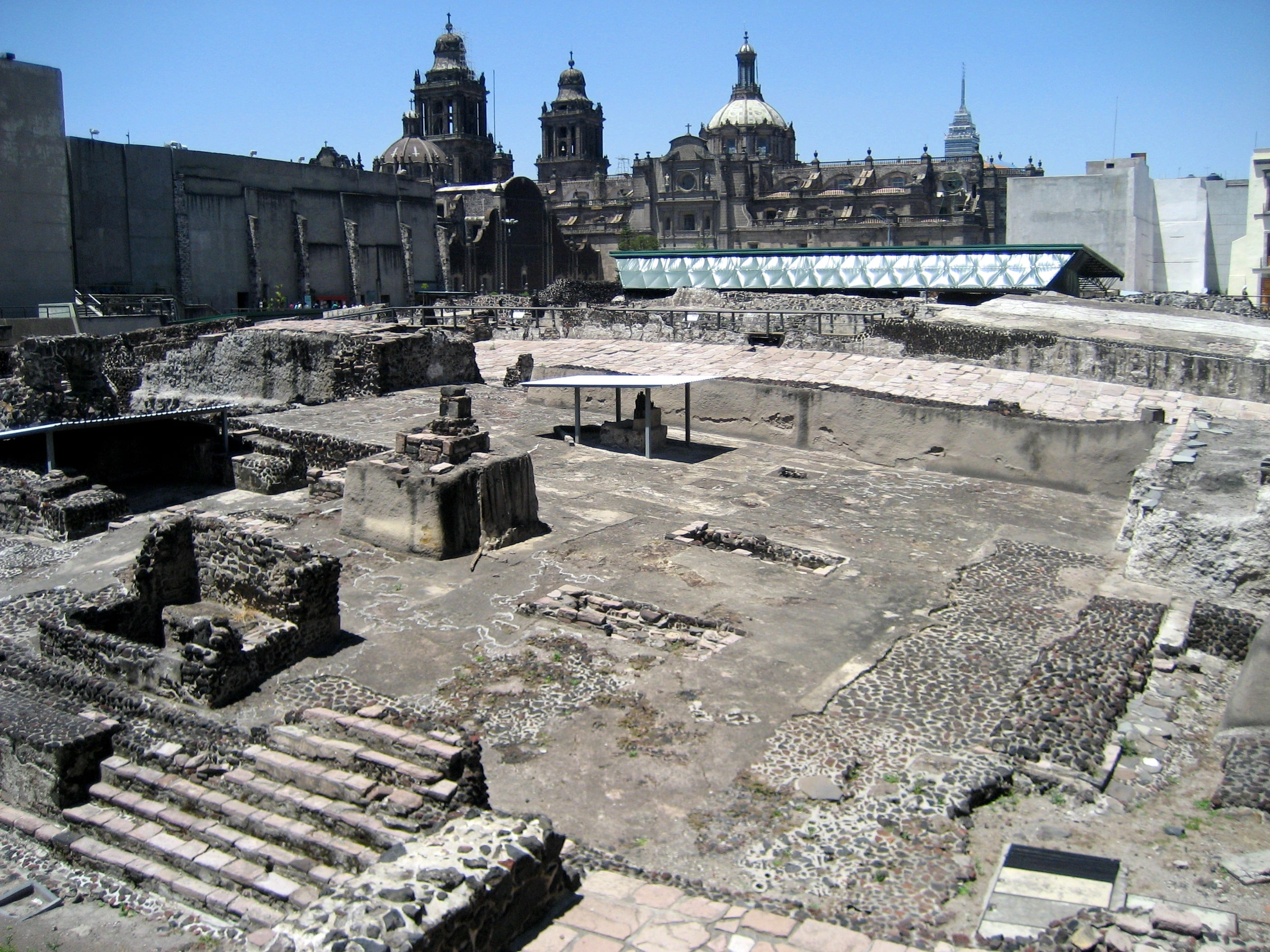 Templo Mayor is one of the best Mexico City attractions