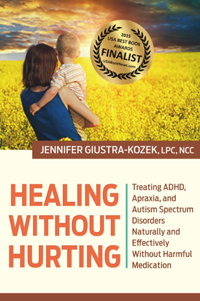 healing without hurting by jennifer kozek adhd book