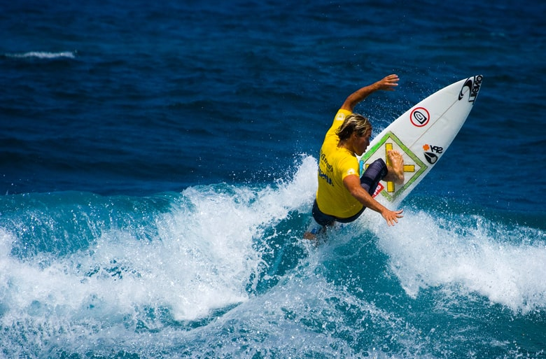 Surfing in Aguadilla is one of the many activities in Puerto Rico