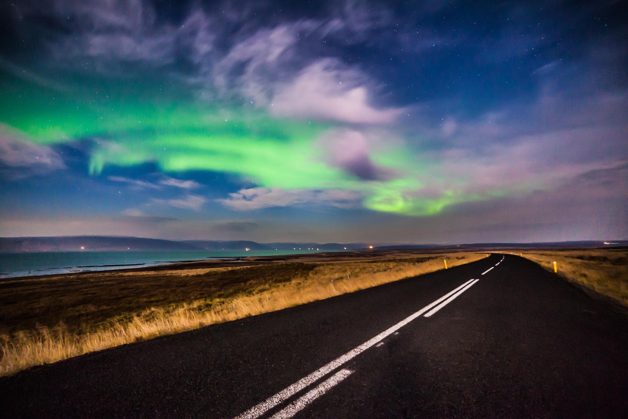 travel to iceland northern lights aurora borealis