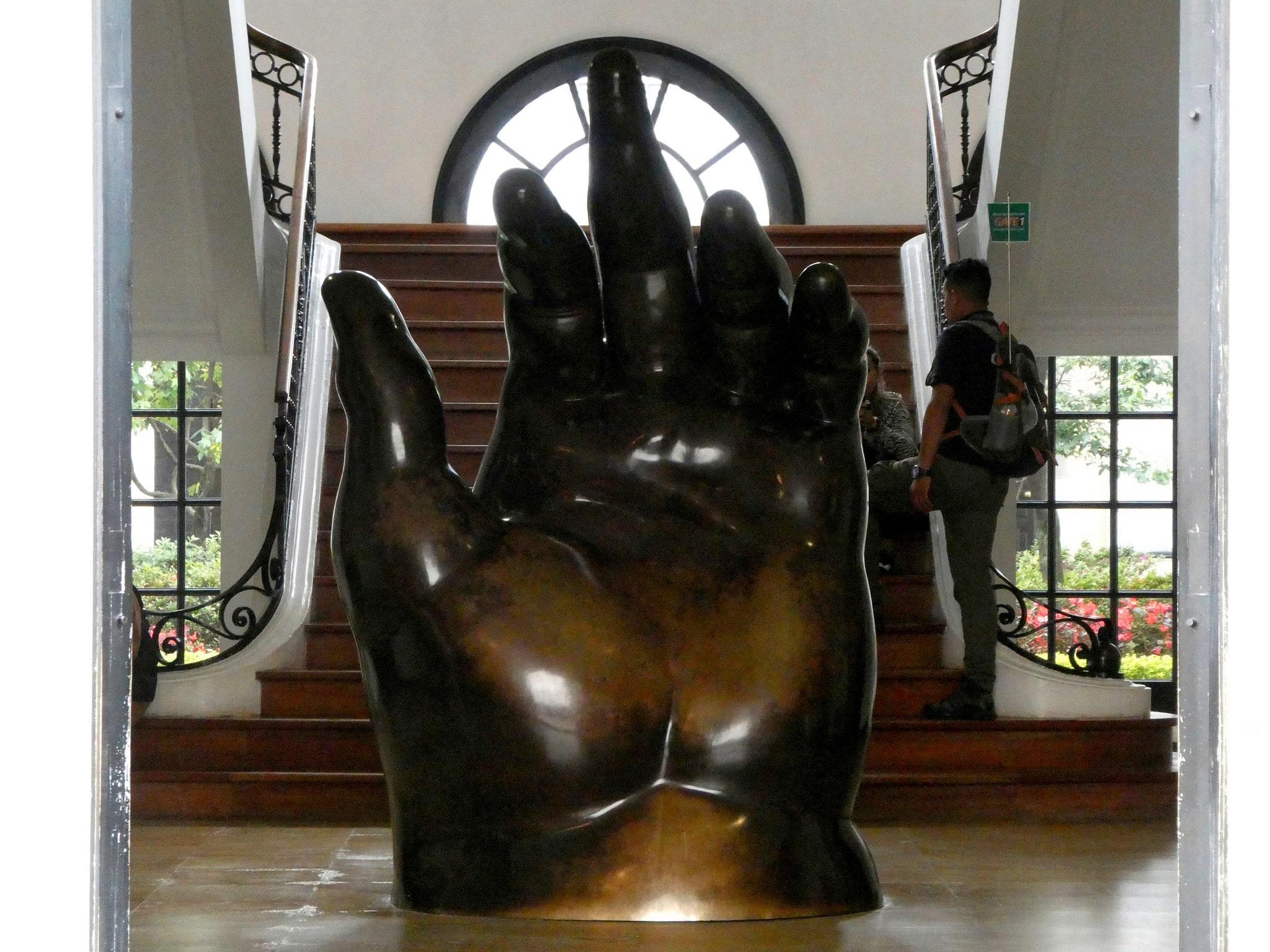 Botero Museum in Banco de la Republica in Bogota, Colombia
