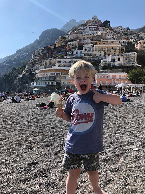 photo of beach in Positano Italy