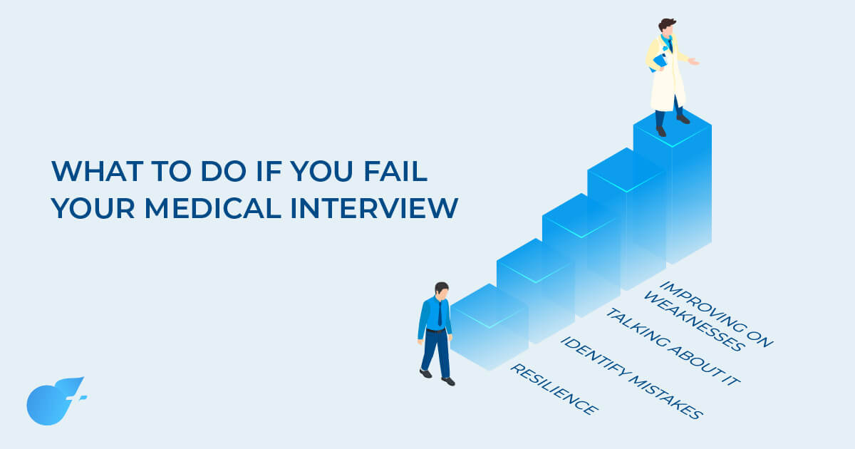 What to do if you fail your medical school interviews