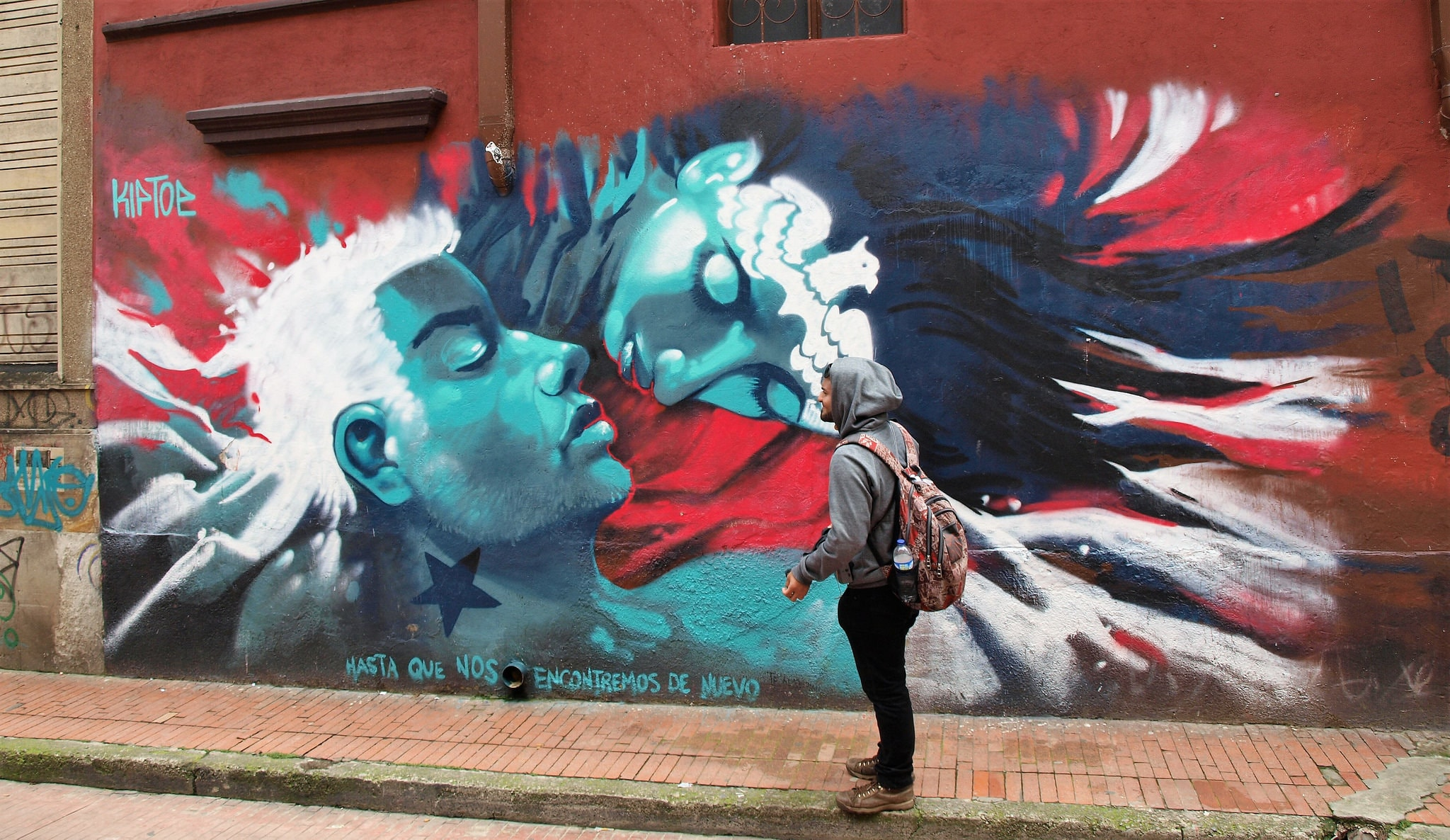 Bogota graffiti Things to do in Colombia