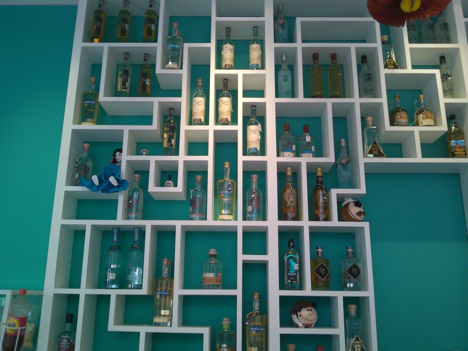 A fun thing to do in Mexico City is try the samples at the Museo del Tequila y el Mezcal