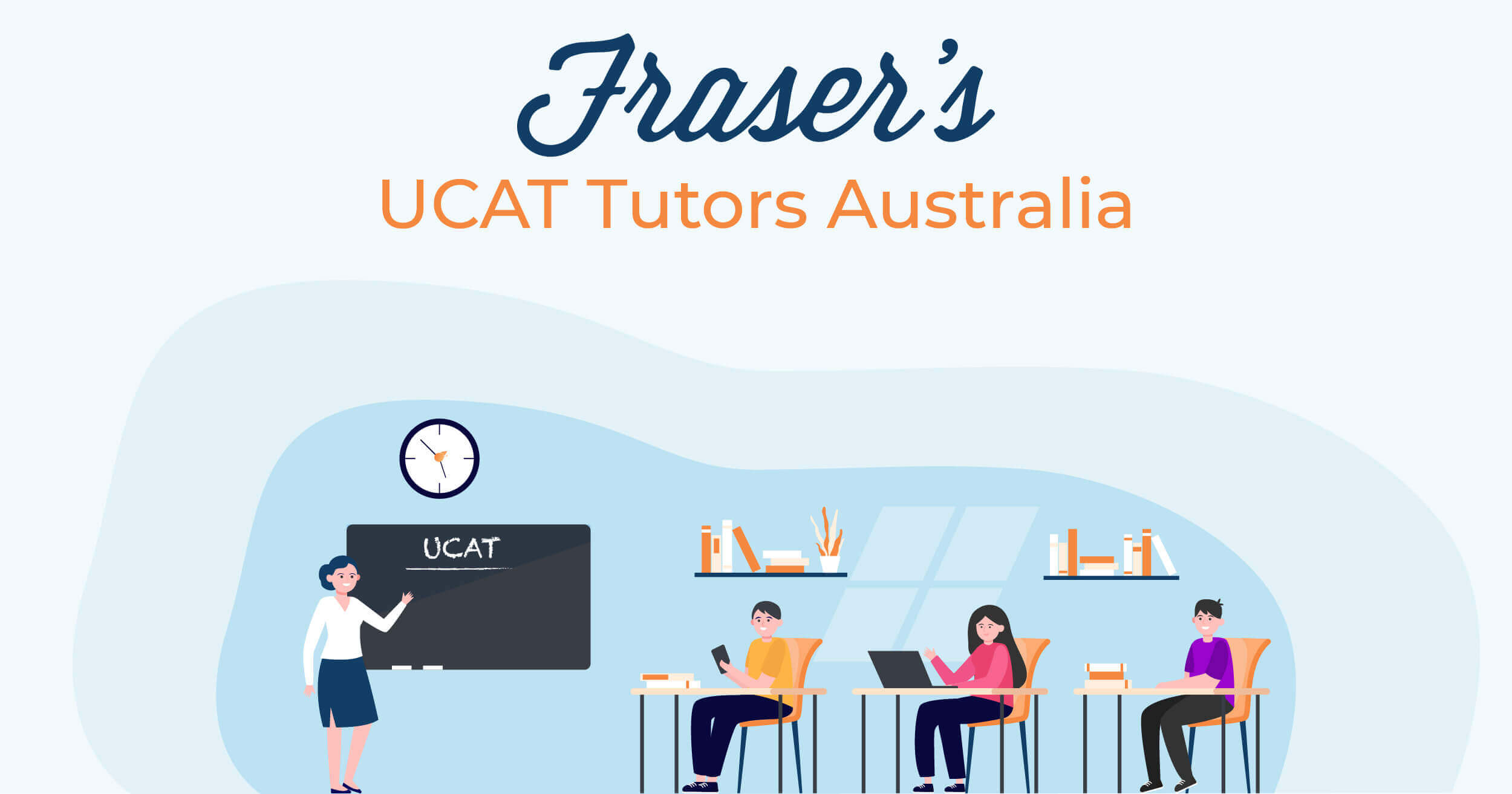 Fraser's UCAT Tutors | Australia featured image