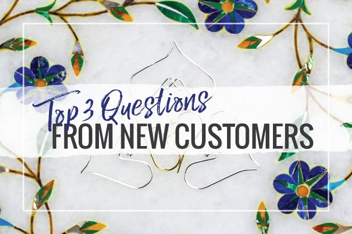 Curious about shopping for jewelry findings at Halstead? Learn the top 3 questions we hear from new customers getting started.