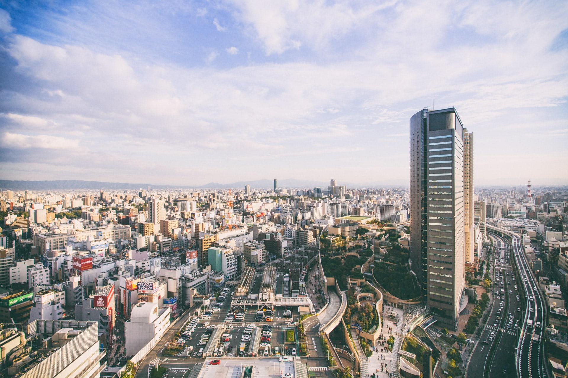 Osaka's cityscapes