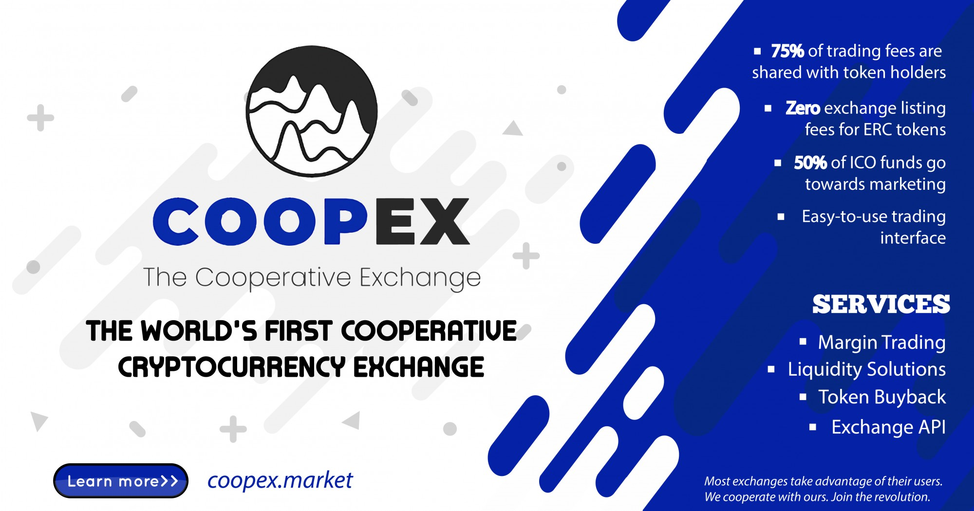 COOPEX banner logo