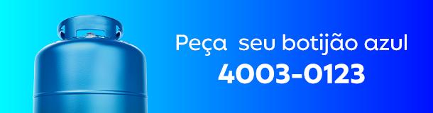 Ligue 4003-0123 e peça seu botijão azul!