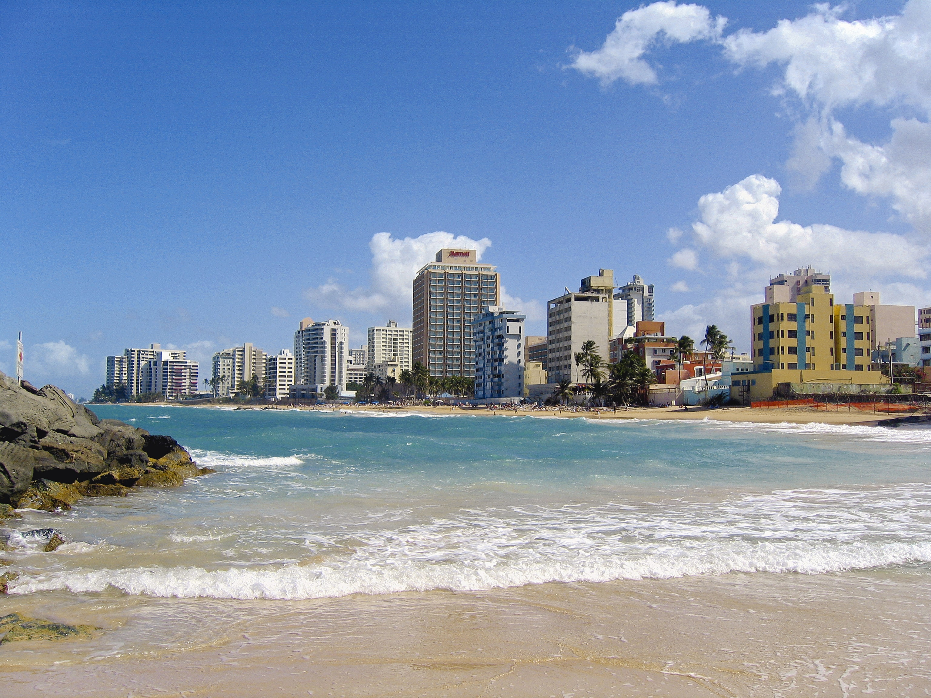 Going to the beach is one of the best activities in san juan puerto rico