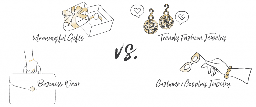 Gold-Filled vs  Gold-Plated Jewelry