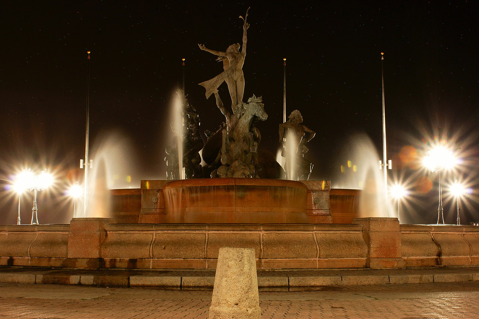 Gorgeous Raices Fountain is one of San Juan's top attractions