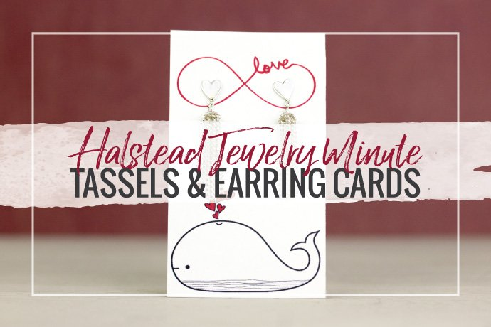 Watch Hilary Halstead Scott and Katie Hacker create quick tassel earrings, punch earring holes in cards and discuss the popular tassel trend we're seeing right now!