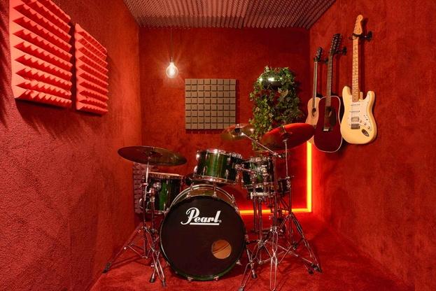 Drum practice rooms