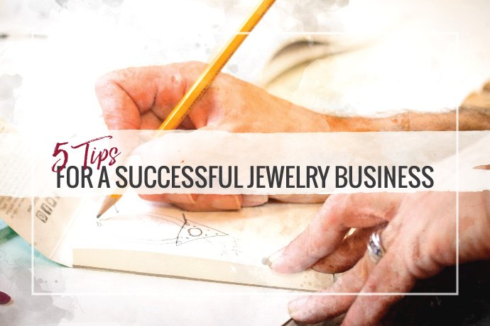 Read our top tips on how to run a successful jewelry business. Hint: it takes more than design skills, you will need to run the business side too!