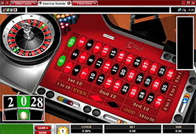 32 Red - roulette table