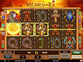 Casino Room - Riches of Ra