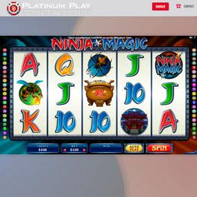 Platinum Play - Ninja Magic