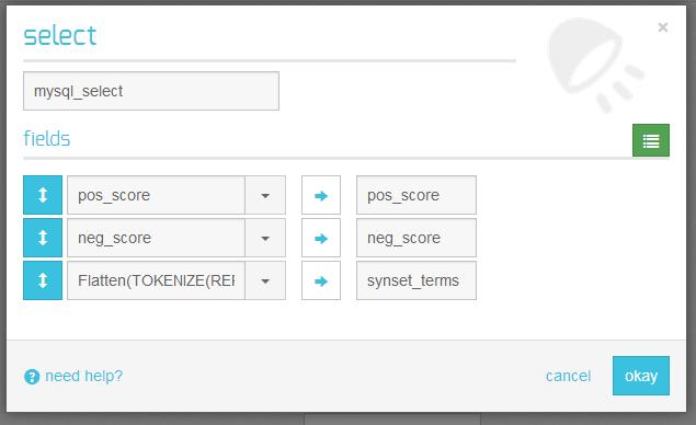rdbms select