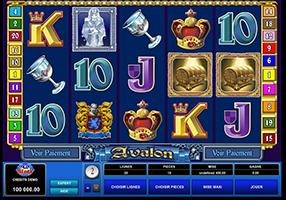 All Slots - Avalon