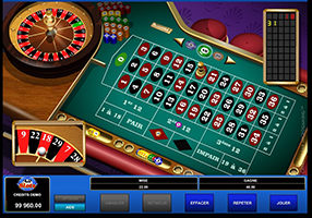 All Slots - roulette table