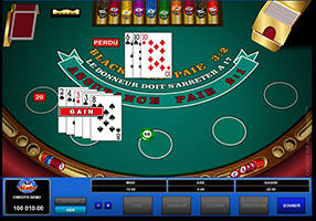 All Slots - blackjack table