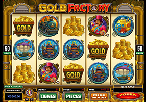 All Slots - Gold Factory