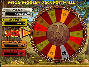 Casino Room - Mega Moolah
