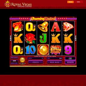Royal Vegas - Burning Desire