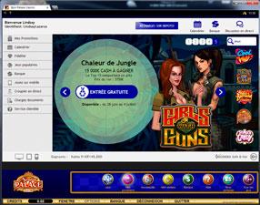 Spin Casino - Lobby